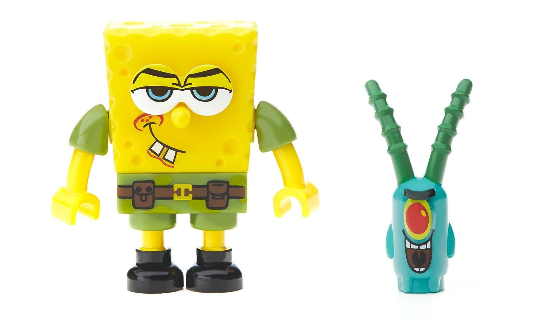 amazon com mega bloks spongebob squarepants tartar bomber