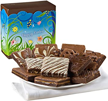Amazon fairytale brownies easter nut free dozen gourmet food fairytale brownies easter nut free dozen gourmet food gift basket chocolate box 3 inch negle Images