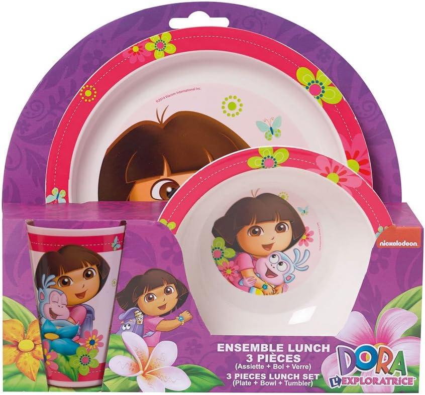Geschirr-Set aus Melamin Dora