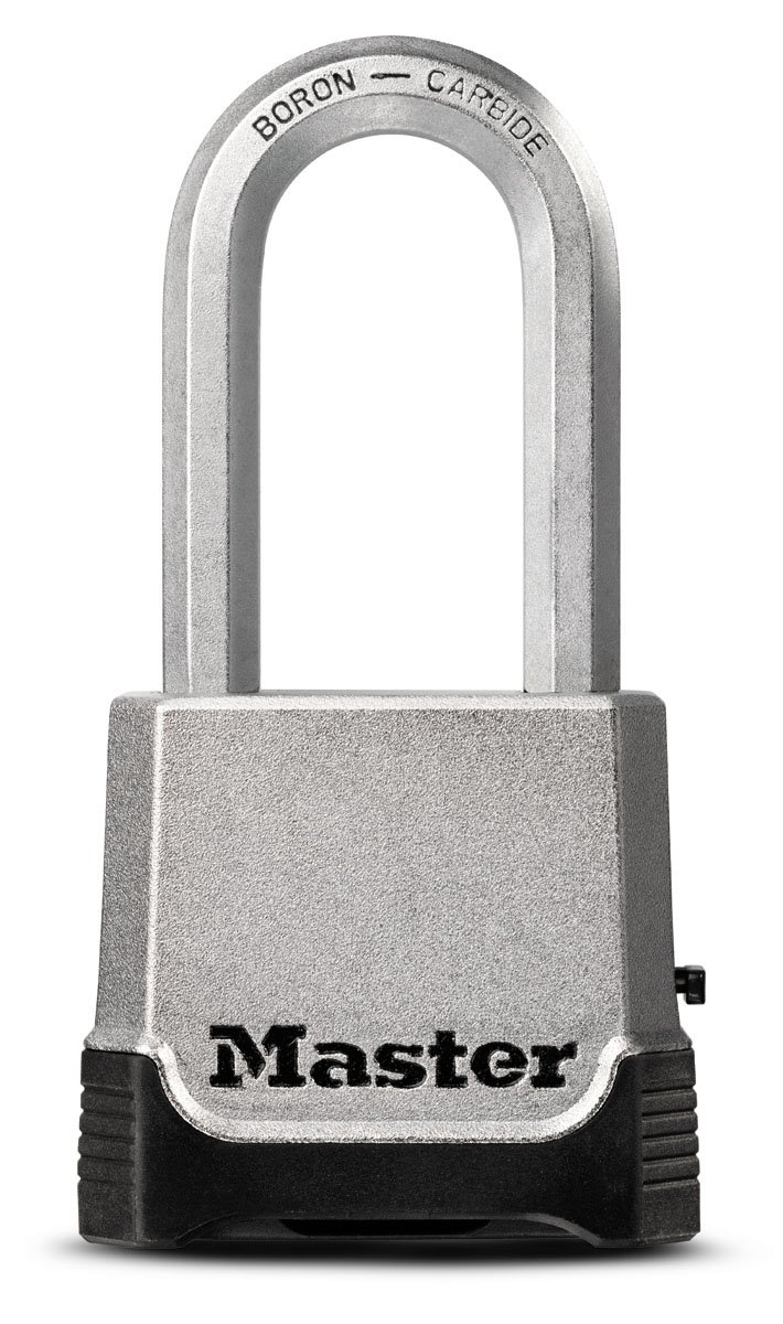 Master Lock Padlock, Magnum Set Your Own Combination Lock, 2 in. Wide, M176XDLH