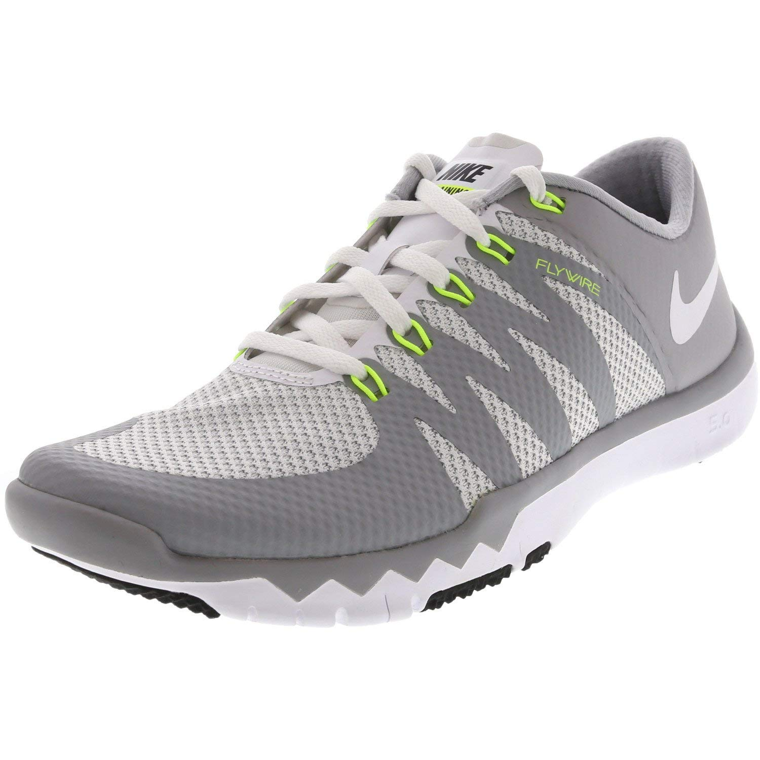 Nike Men's Free Trainer 5.0 V6 White / - Wolf Grey Ankle-High Cross Shoe 6M