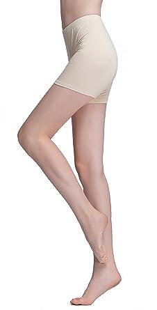 6f69be010d4822 Vinconie Women Soft Under Dress Shorts Safety Leggings Yoga Pants Slim Fit:  Amazon.co.uk: Clothing