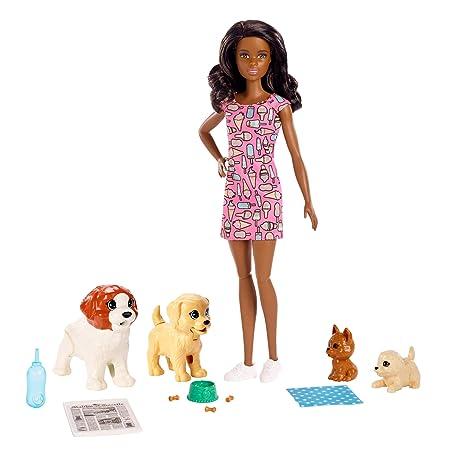 Barbie Doggy Day Care Playset (Dark Hair) by Barbie