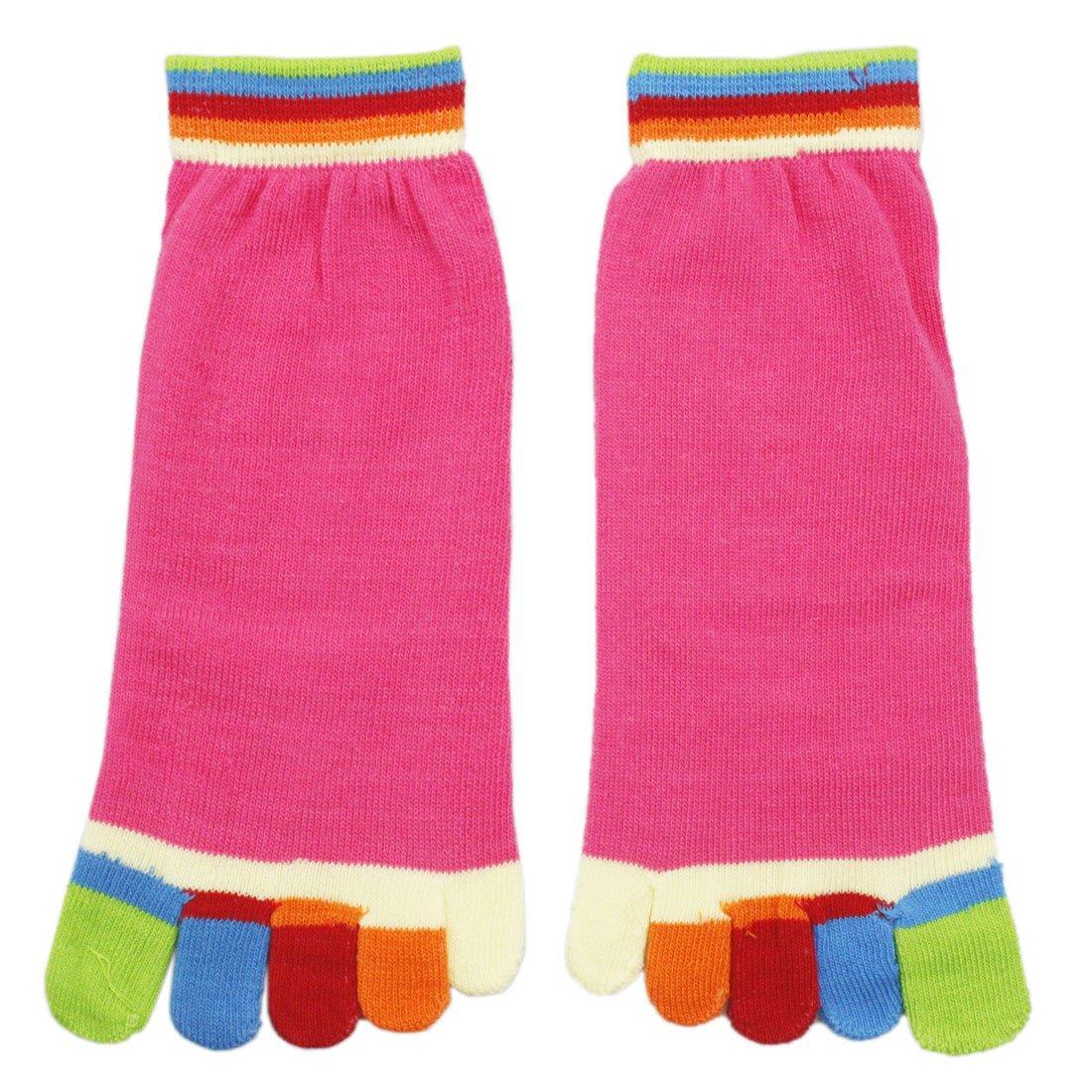 Blanc – Lot de 4 paires de chaussettes en coton pour femme Antidérapantes  Respirantes 5 orteils Yoga Pilates Gym  Amazon.fr  Sports et Loisirs 74be6f4ecb1