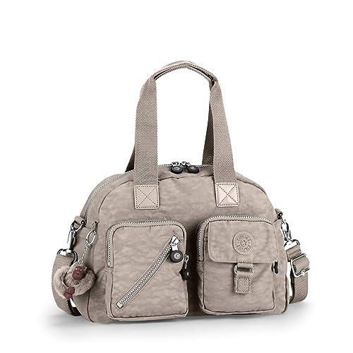 9aebe6679 Kipling - Defea, Shoppers y bolsos de hombro Mujer, Grau (Warm Grey), One  Size: Amazon.es: Zapatos y complementos