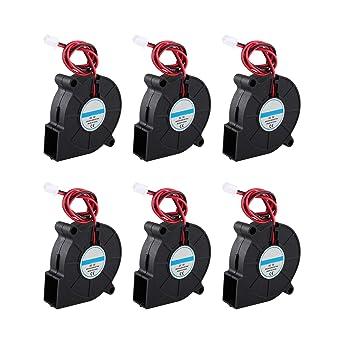 Ventilador de refrigeración para impresora 3D, 5 V, 50 x 50 x 15 ...