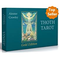Aleister Crowley Thoth Tarot - Gold Edition (Deluxe Tarotkarten)
