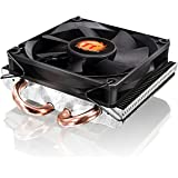 Thermaltake Slim X3 Ventola CPU, Nero/Antracite