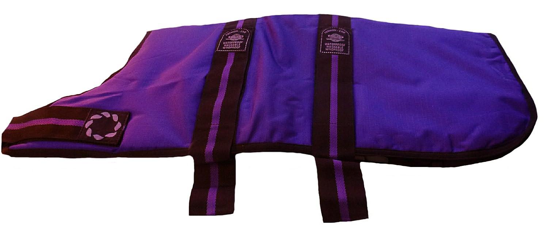 Outhwaite Padded Fashion Waterproof Dog Coat, 20-inch, Purple