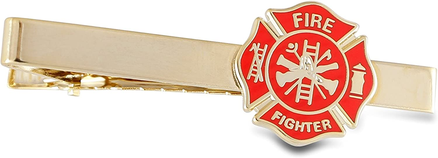 Emblematic Jewelry Volunteer Firefighter - Gold