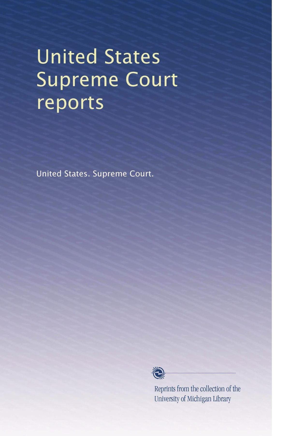 United States Supreme Court reports (Volume 33) PDF