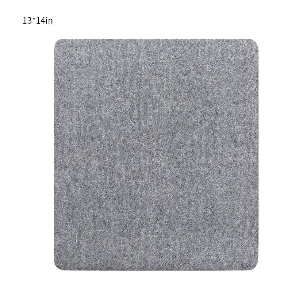 100 New Zealand Wool Pressing Pad 10x10//12x14//12x18 inch Easy Press Wooly Felted Iron Board for Quilters Wool Ironing Mat-Pad