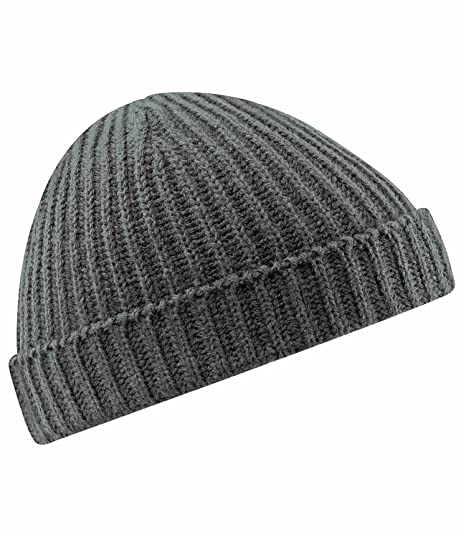 d872a534a2a Image Unavailable. Image not available for. Color  Beechfield Unisex  Trawler Beanie One ...