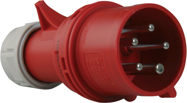 PCE 015-6tt CEE Stecker 16 A 5polig 400 V