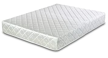b641c604bc95 Cool Blue Memory Foam Open Coil Mattress Luxury Quilted Single ...