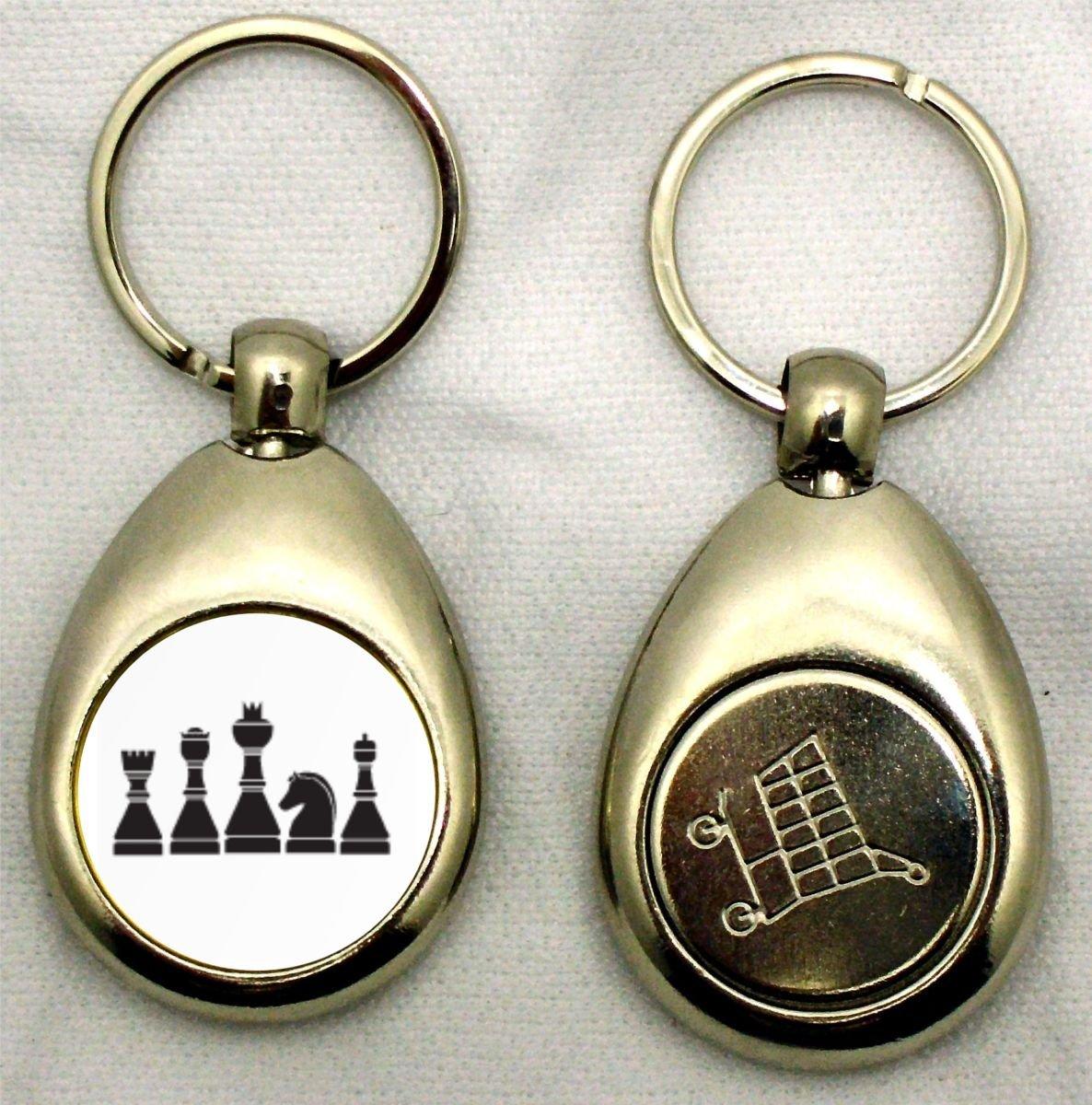 Llavero con piezas de ajedrez: Amazon.es: Deportes y aire libre