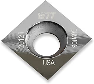 """product image for Woodpeckers Ultra Shear .59"""" Square Replacement Carbide Insert for Ultra-Shear Woodturning Tool FSS & MSS"""