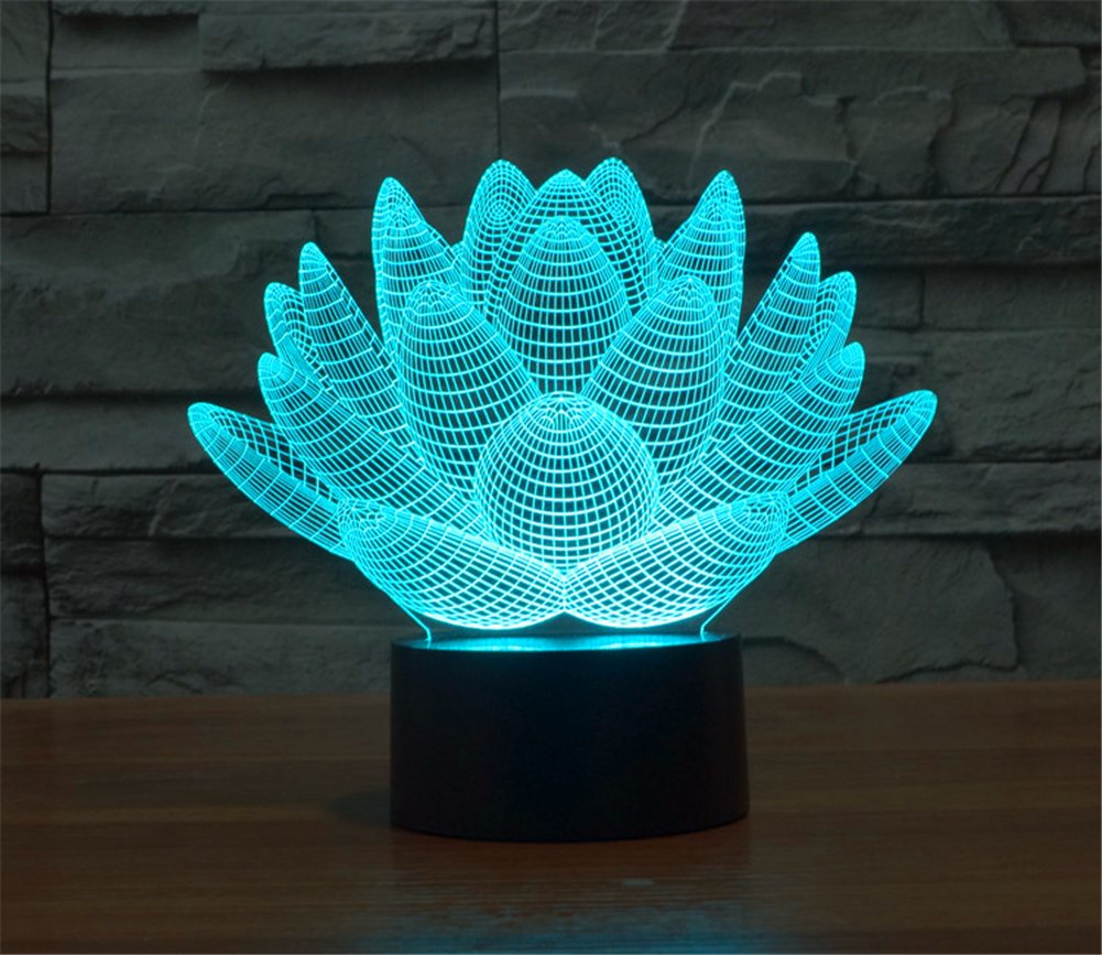 sprouting lotus night lamp