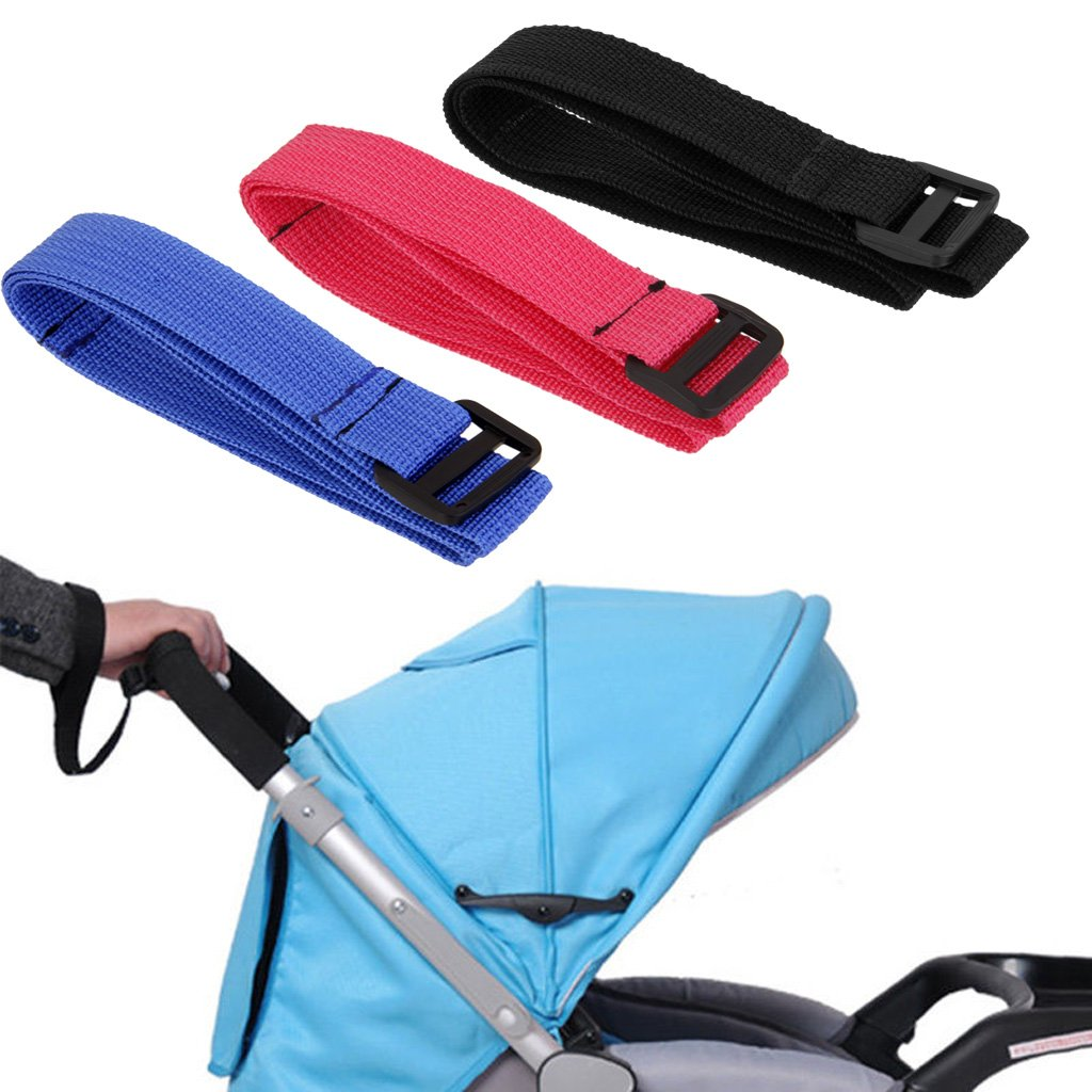 Homyl Kinderwagen Handschlaufe Kinderwagengurt Handgelenkriemen für Bugg - Blau