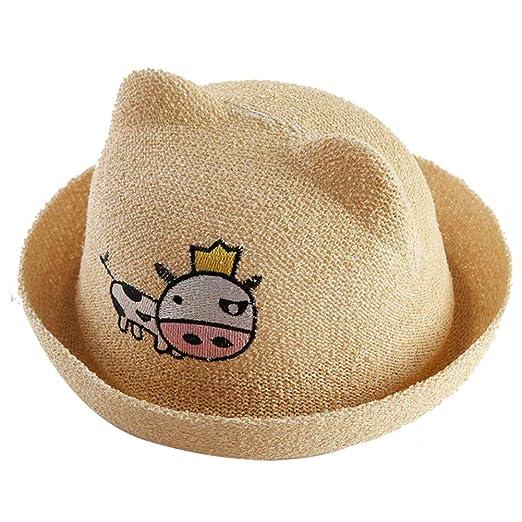 Kanggest.Gorro de Sol Verano en Forma de Cerdo Sombrero de ...