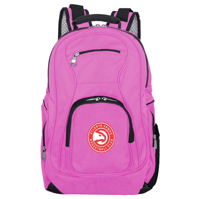 Denco NBA Atlanta Hawks Voyager Laptop Backpack, 19-inches, Pink