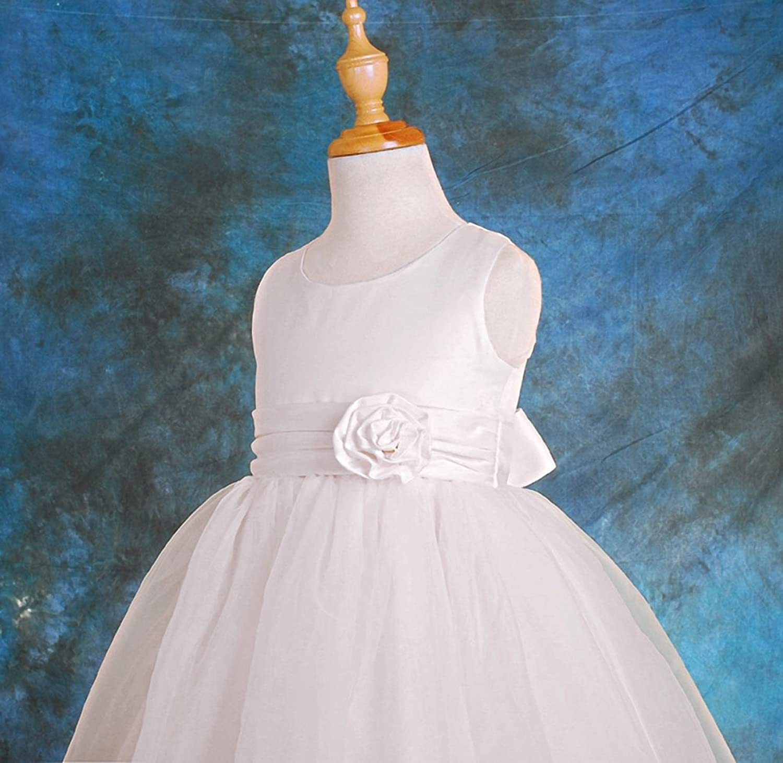 Amazon.com: Dressy Daisy Girls\' Empire Waist Wedding Flower Girl ...