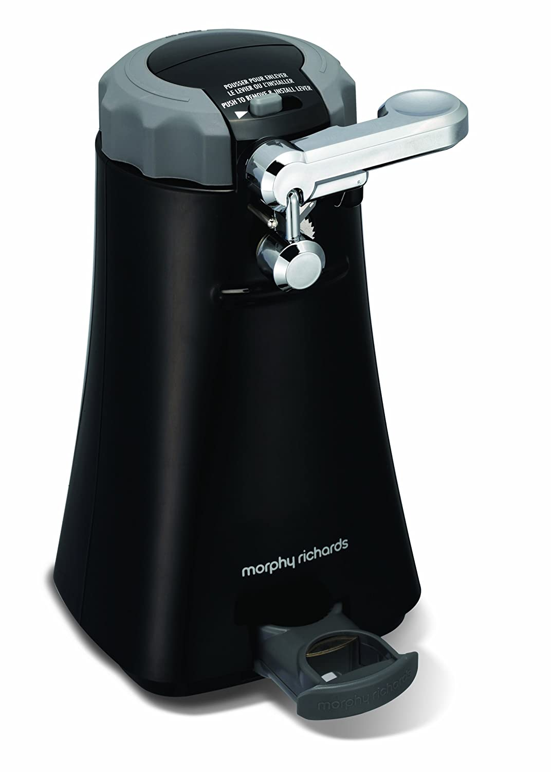 Morphy Richards 46718 - Abrelatas multifunción