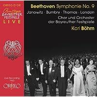 Beethoven: Symphony No. 9 [Gundula Janowitz; Grace Bumbry; Jess Thomas; George London; Chor und Orchester der Bayreuther Festspiele; Karl Böhm] [Orfeo: C935171B]