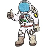 Pack of 2 Astronaut - A journey to space Iron on Patches - 6Patch