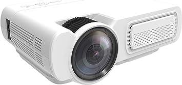 Mini proyector 3600 Lux Proyector de video LCD portátil con 50000 ...