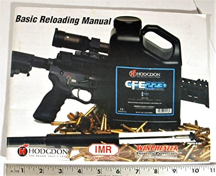 The 2013 annual reloading manual is the 10th consecutive from hodgdon.