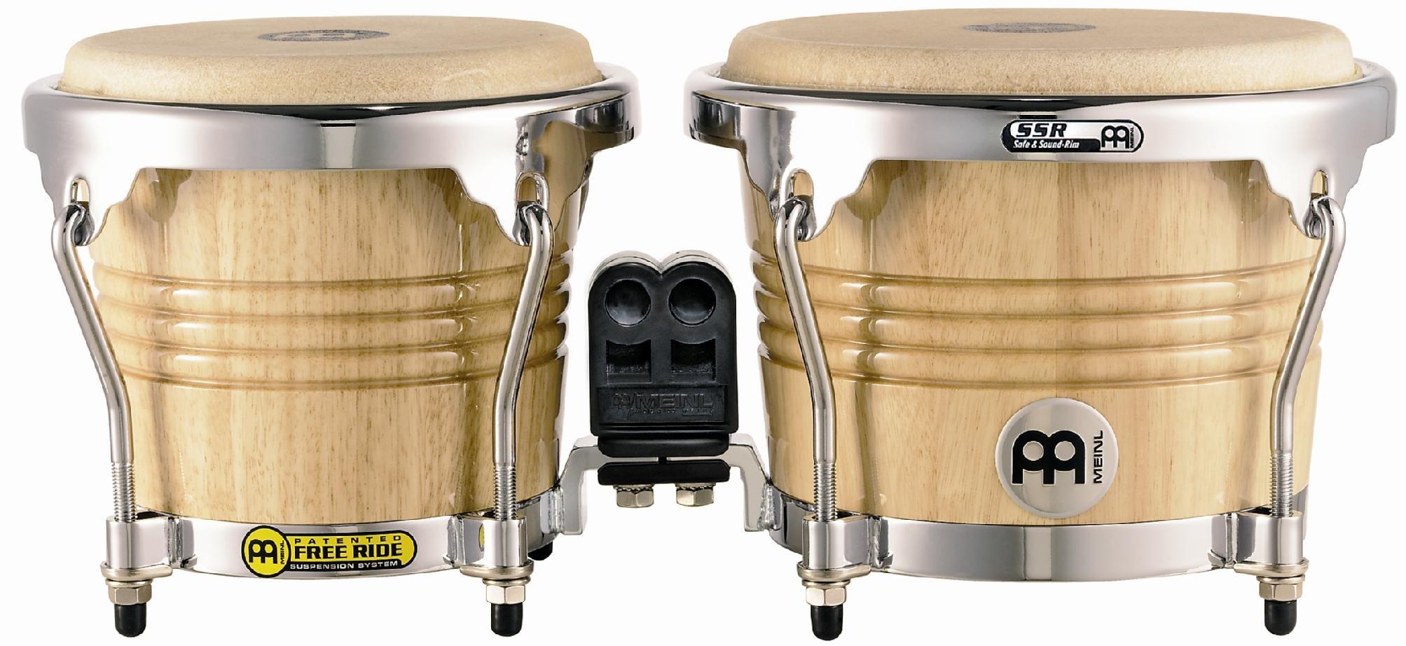 Meinl 6.75-inch + 8-inch Freeride wood Series Bongo