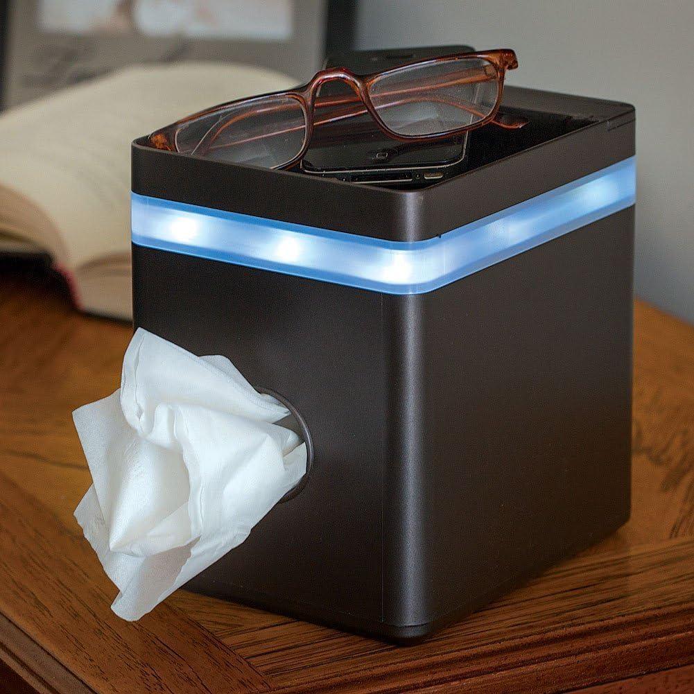 LED TISSUE BOX HOLDER