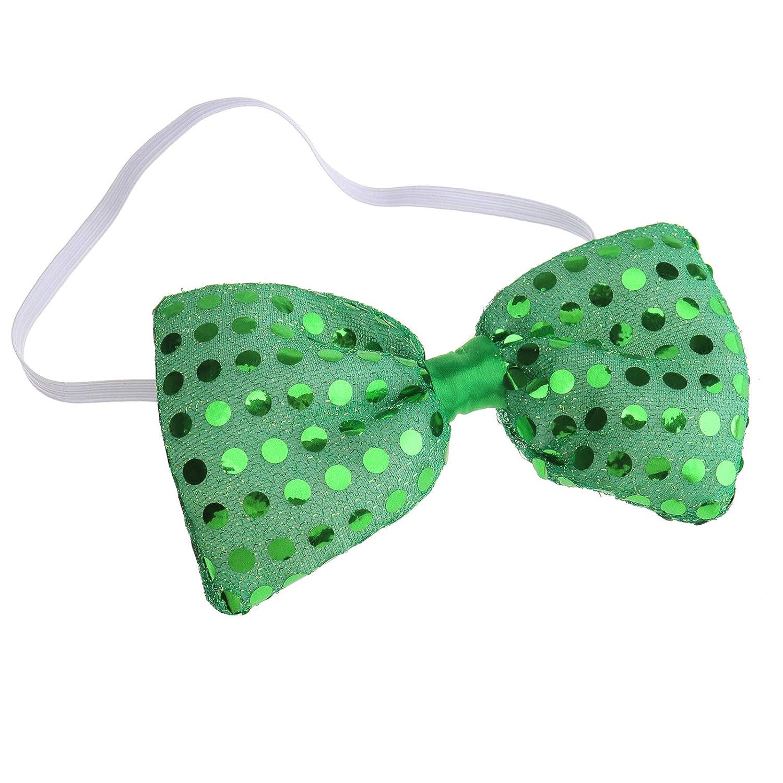 Corbata LED con lentejuelas parpadeantes, decoración para fiestas ...