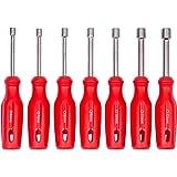 Juego de destornilladores de vaso 7 uds. | WIESEMANN 80225 | para tornillos de cabeza hexagonal | 6-12 mm