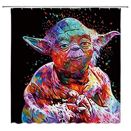 Image Unavailable Not Available For Color AMNYSF Star Wars Shower Curtain