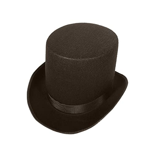 Amazon.com  Coachman Victorian Costume Top Hat Tall Coachman Top Hat  Victorian Hat  Clothing 131c5425210a