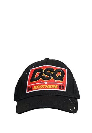 DSQUARED2 Gorra - Hombre dsq2 4003/50c Gorra Negro - Talla Única ...