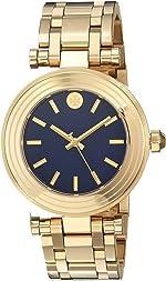 Tory Burch Classic T Bracelet Watch Gold - Tbw9004 One Size