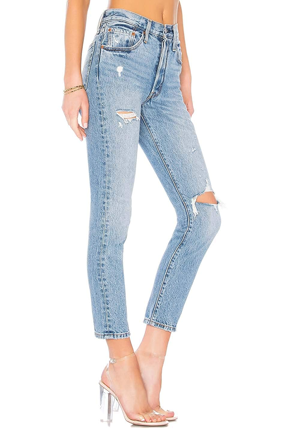 f53883aae841 Levi's 501 Stretch Skinny Jeans Black Heart at Amazon Women's Jeans store