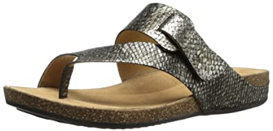 cafc00a6d60da Clarks Women's Perri Coast Wedge Sandal, Pewter, 6 M US: Amazon.co ...