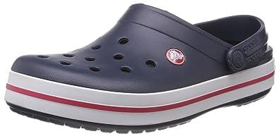 Crocs Crocband Clogs Navy, Größe 45/46, dunkelblau