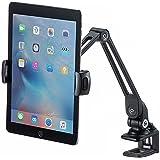 サンワダイレクト iPad タブレット用 アームスタンド クランプ式 6関節 ホルダー360度回転 アルミ 100-LATAB002