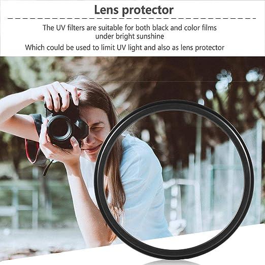 vbncvbfghfgh Lente de Filtro UV de 52 mm Haze Protector de Lente ...