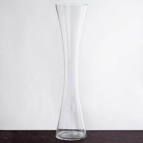 Amazon Balsacircle 6 Pcs 24 Tall Clear Glass Hourglass Vases