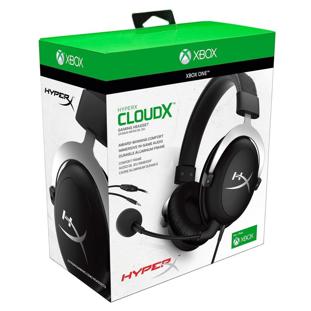 HyperX CloudX Binaural Diadema Negro Auricular con micrófono - Auriculares con micrófono (Consola de Videojuegos + PC/Videojuegos, Binaural, Diadema, Negro, ...