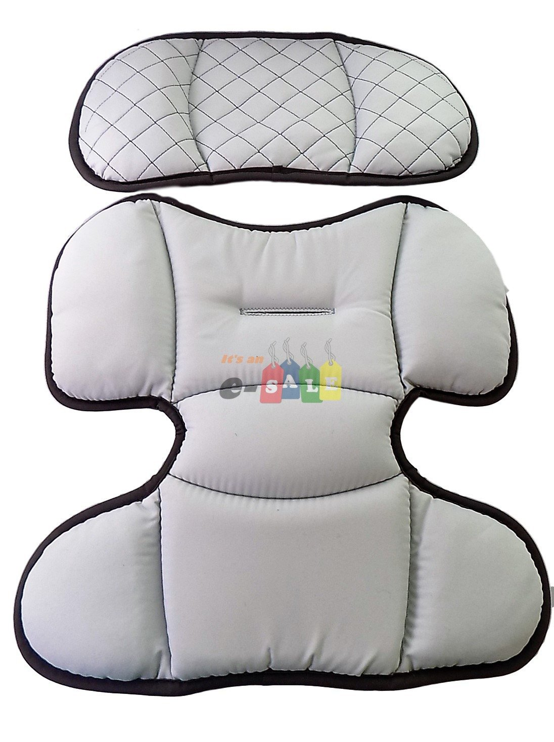 Replacement Infant Head and Body Insert Pads for Chicco KeyFit & KeyFit 30 Car Seat - Foxy
