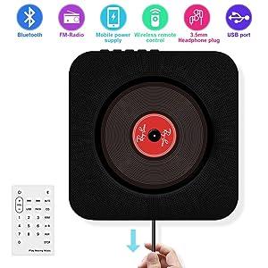 Portable CD Player Wall Mountable