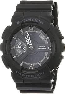 GSHOCK Men's Automatic Wrist Watch analog-digital Display and Resin Strap, GA110-1B