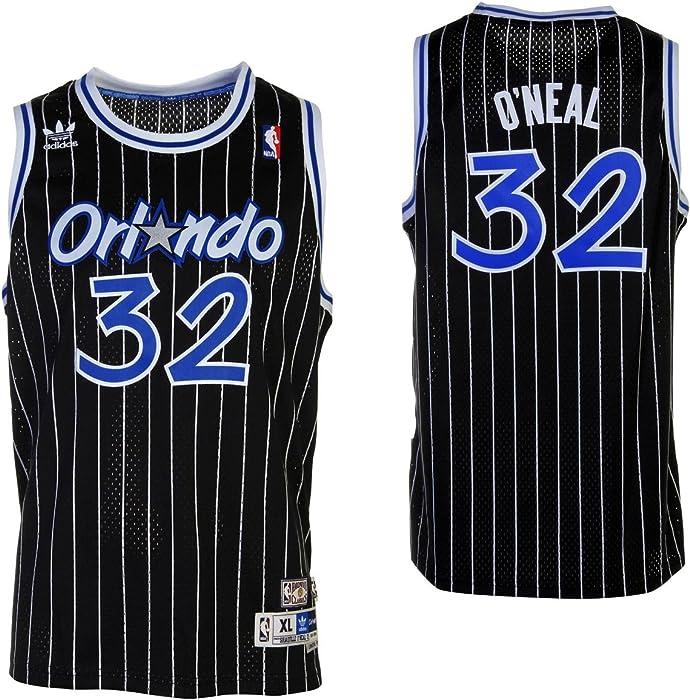 106472984 Shaquille O Neal Orlando Magic Black Youth NBA Hardwood Classics Jersey  (Small)